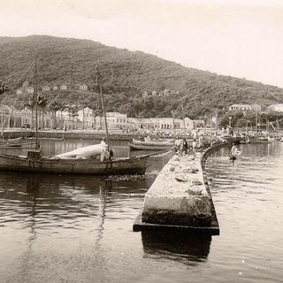 Harbour of Florianópolis, Island of Santa Catarina, Brazil, where the first six Sisters arrived on 27.03.1895.