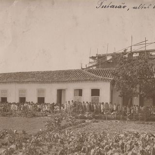 Tubarão – the old house.
