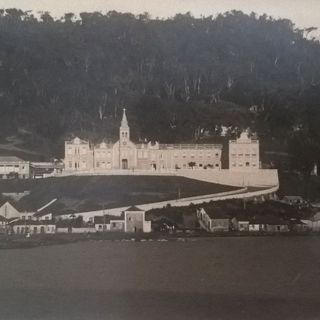 "29.08.1897: Foundation of the third community in Brazil: at the ""Hospital de Caridade"" in Florianópolis."
