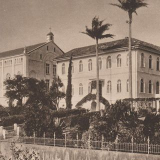 "15.01.1898: Foundation of the College ""Coração de Jesus"" (Heart-Jesu) in Florianópolis, Brazil."
